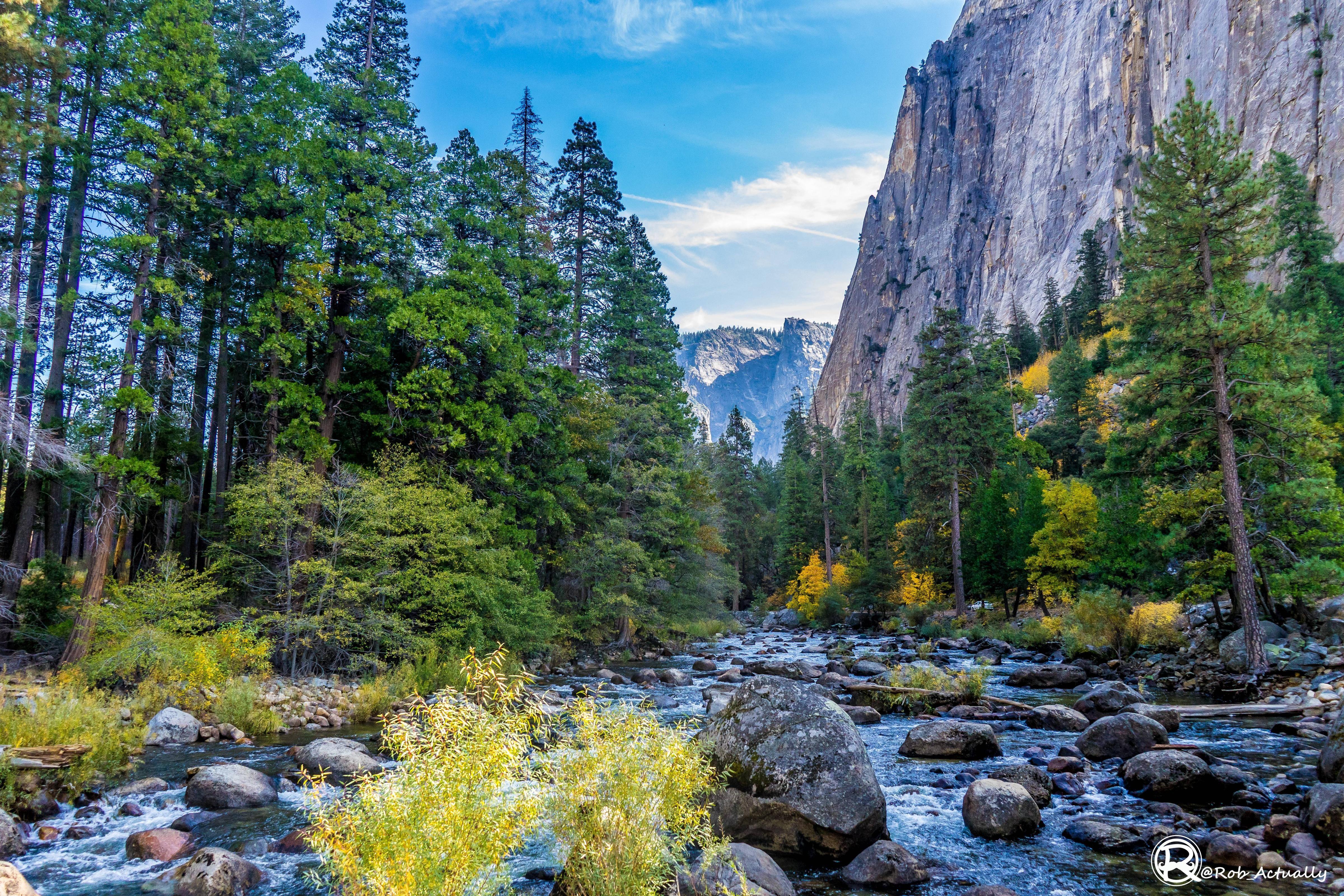 The Merced River In Yosemite National Park Ca Oc 6000 4000