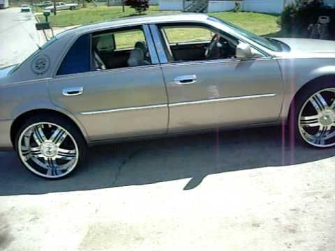 BIG WHIPPERS CADILLAC DEVILLE ON 24'S | (Caddy life2001version ...