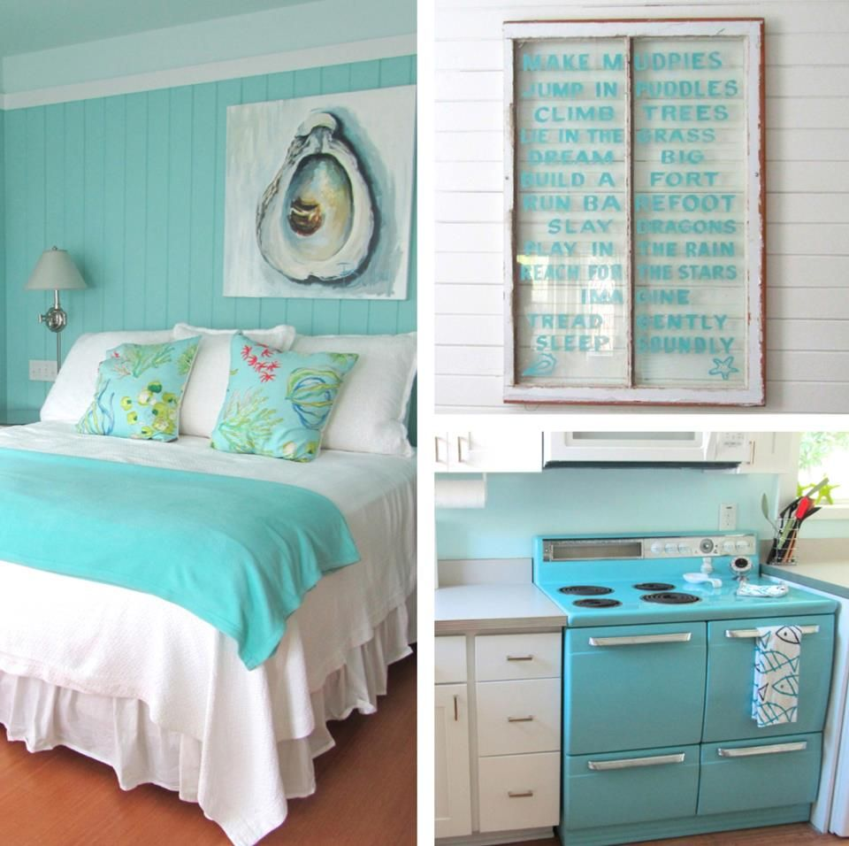 Beach house decor how do you make those windows for Seaside home decor ideas