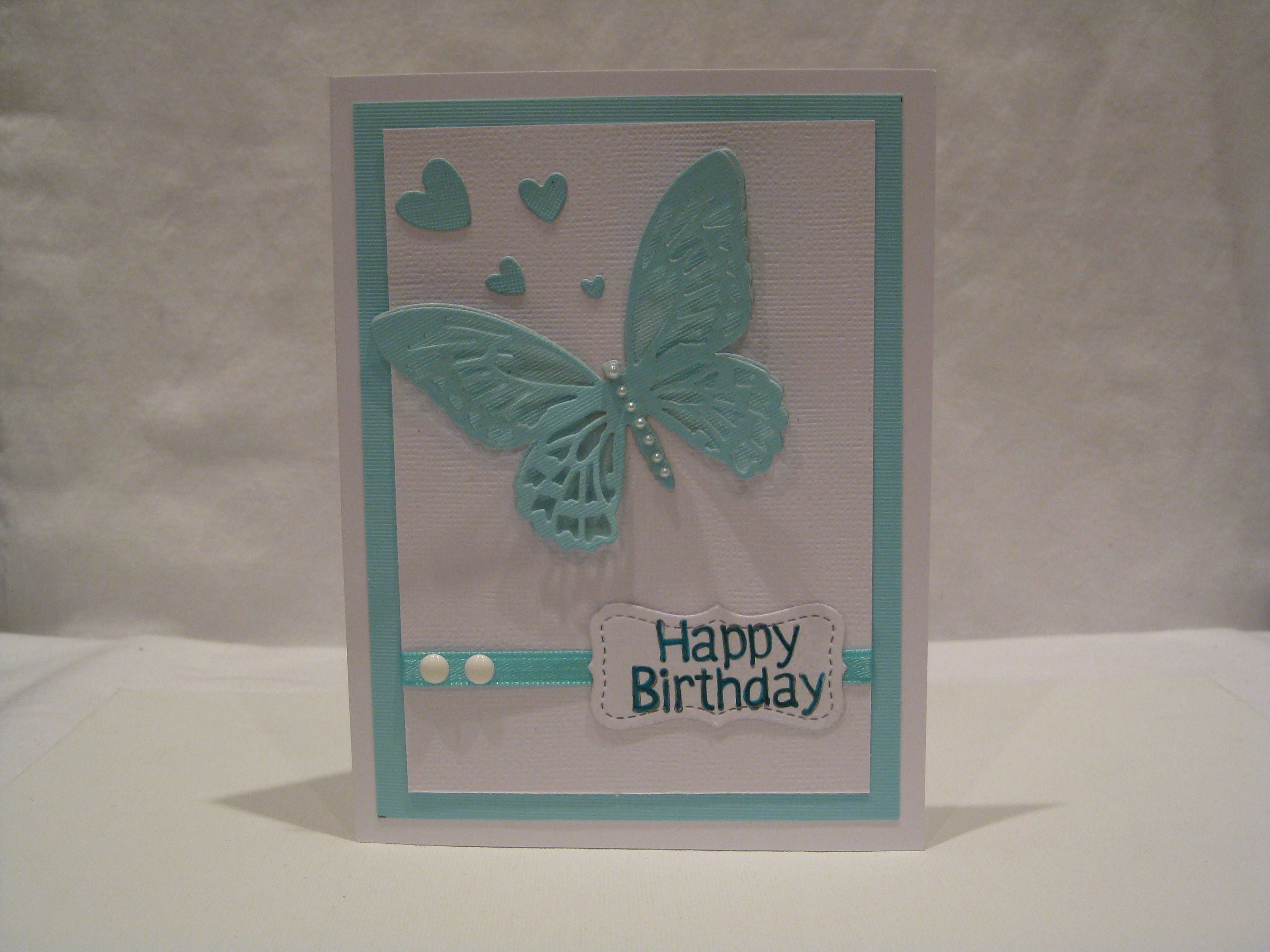 Birthday Card for women teens Pinterest Cards Easy