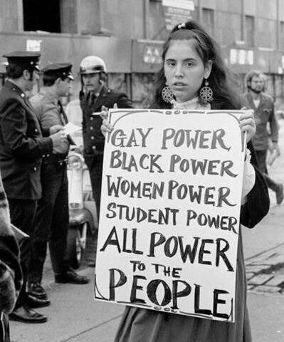 All power to the people.
