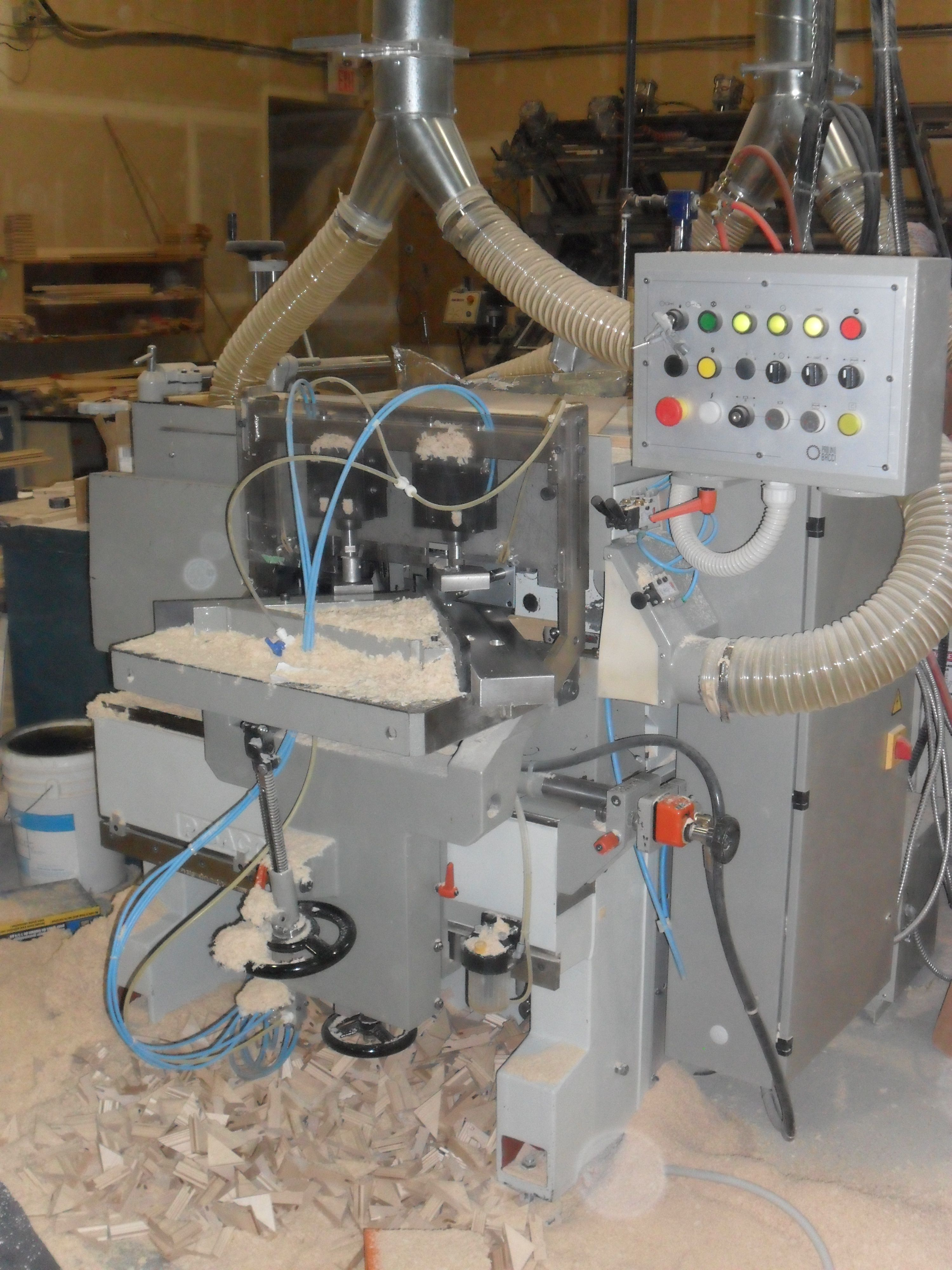 Used Bacci Ttfi Mitre Door Machine Door Equipment Used