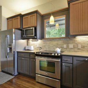 Two Different Colored Kitchen Cabinets | http://shanenatan.info ...