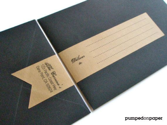 Personalized Mailing Address Labels For Wedding Invitations Customized Wrap