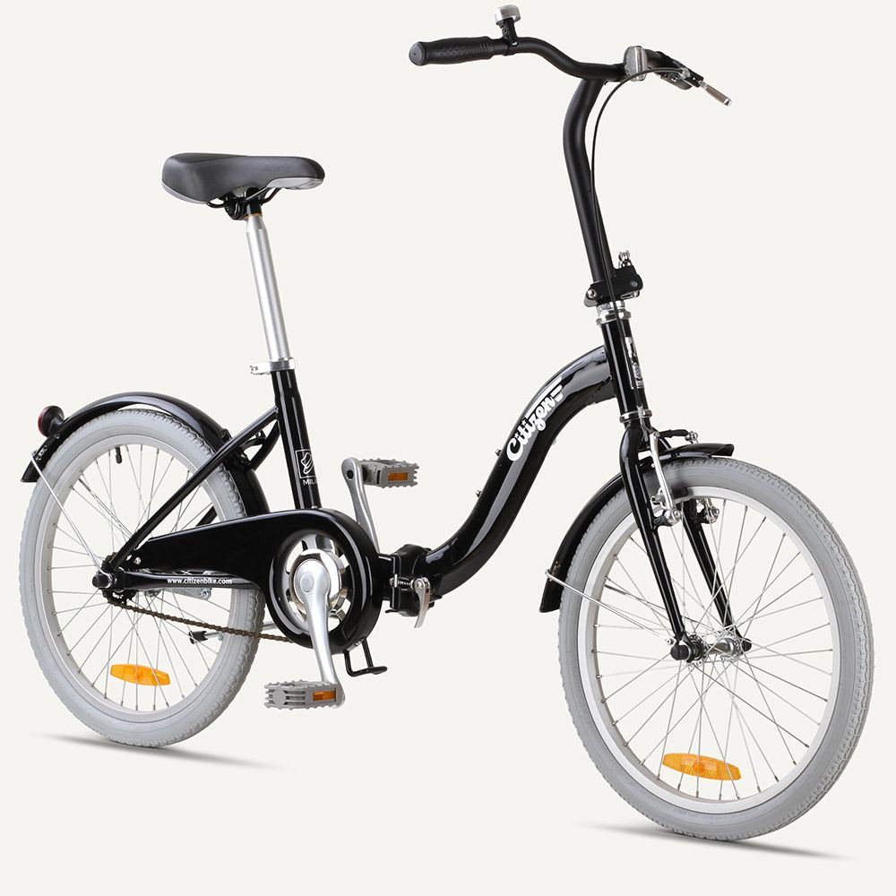 Milan Citizen Bike 20 1 Speed Folding Bike With Step Thru Frame