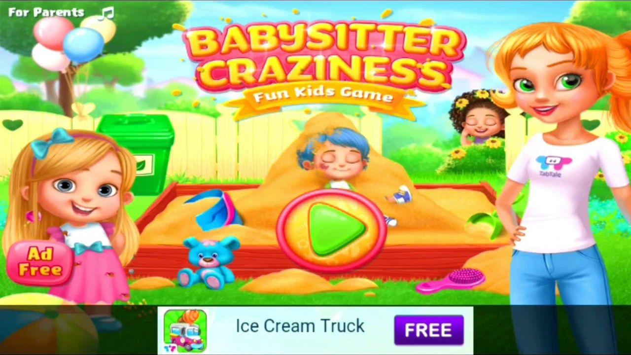 Babysitter Crazyness Fun Kids Game best kids game