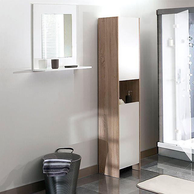 Armoire colonne de salle de bain, Banero Armoires