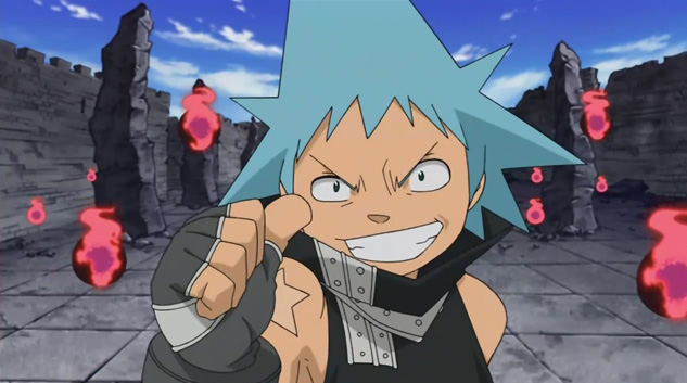 black star from soul eater | Black ☆ Star - Soul Eater
