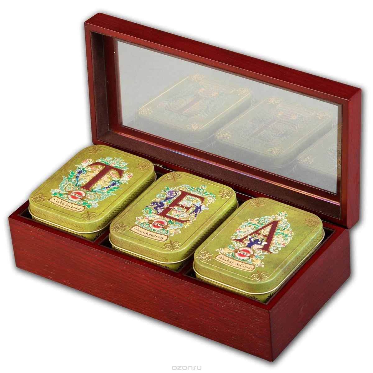 набор зеленого чая подарочный