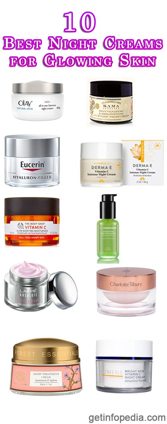 12 Best Night Creams for Glowing Skin  Skin Care  Skin Creams