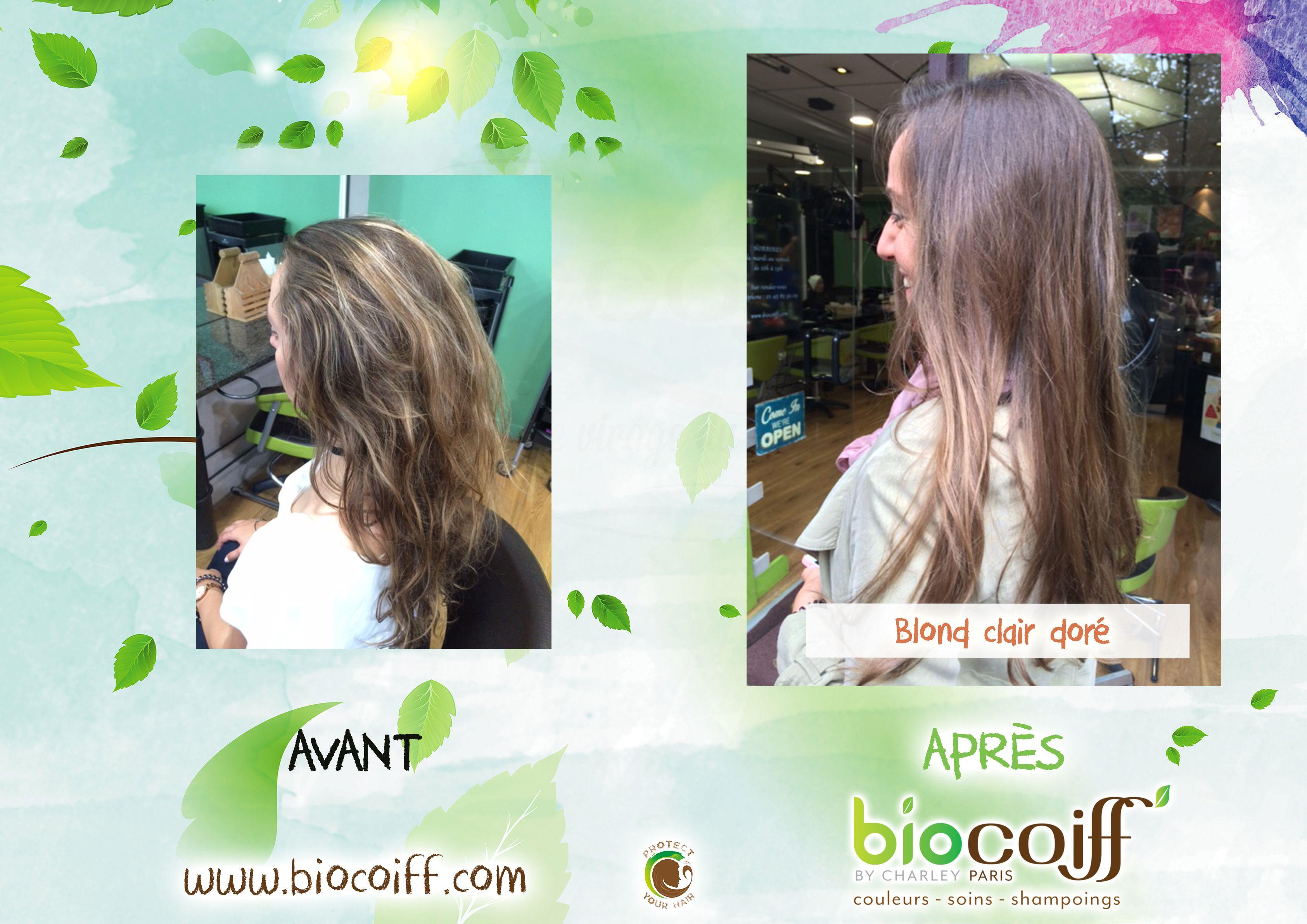 Blond Clair Dore Par Le Salon Du 13eme Arrondissement Blond Dore Coloration Naturel Biocoiff Blond Clair Dore Coiffeur Bio Blond