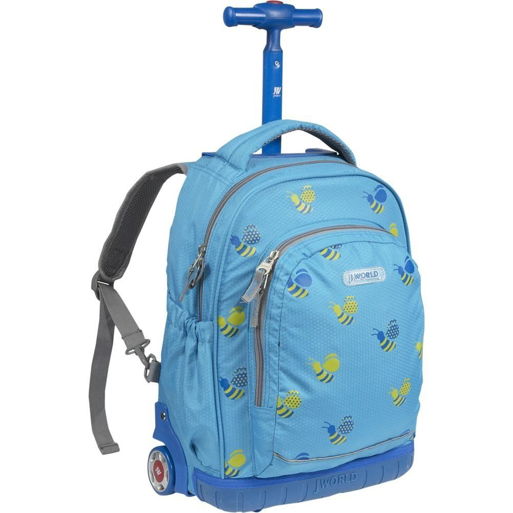 J World Rolling School Backpacks For Boys | Rolling Backpacks For ...