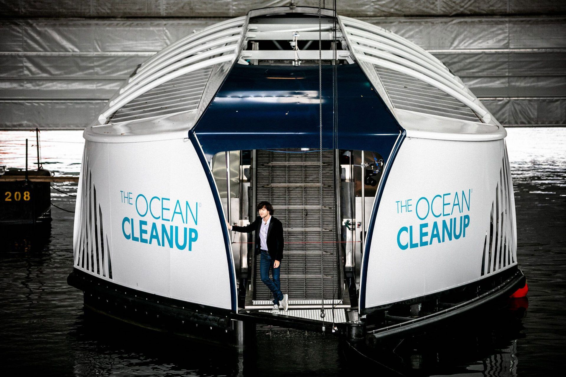 The Ocean Cleanup Reveals The Interceptor It Is The First Scalable Solution To Intercept River Plastic Pollution It Ocean Cleanup Plastic Pollution Pollution