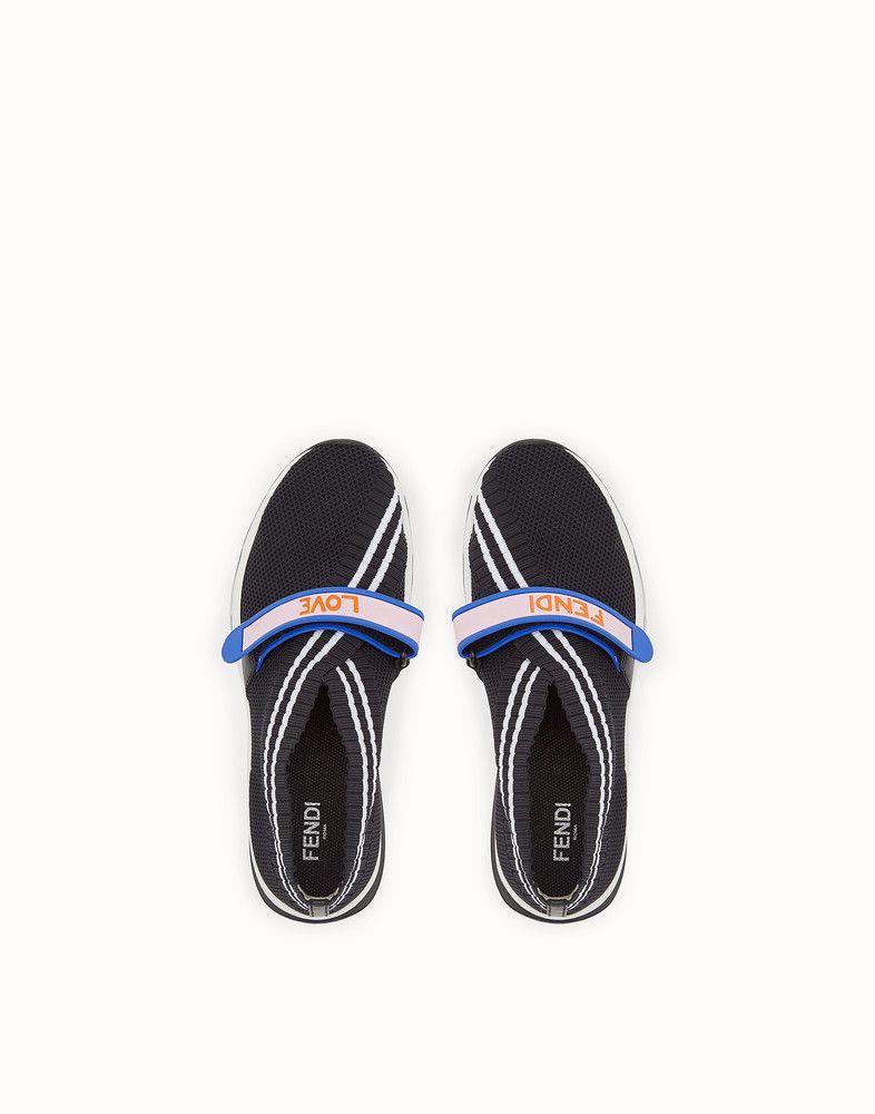 1816d6df31 Sneakers | Shoes I love | Sneakers, Black fabric, Fendi