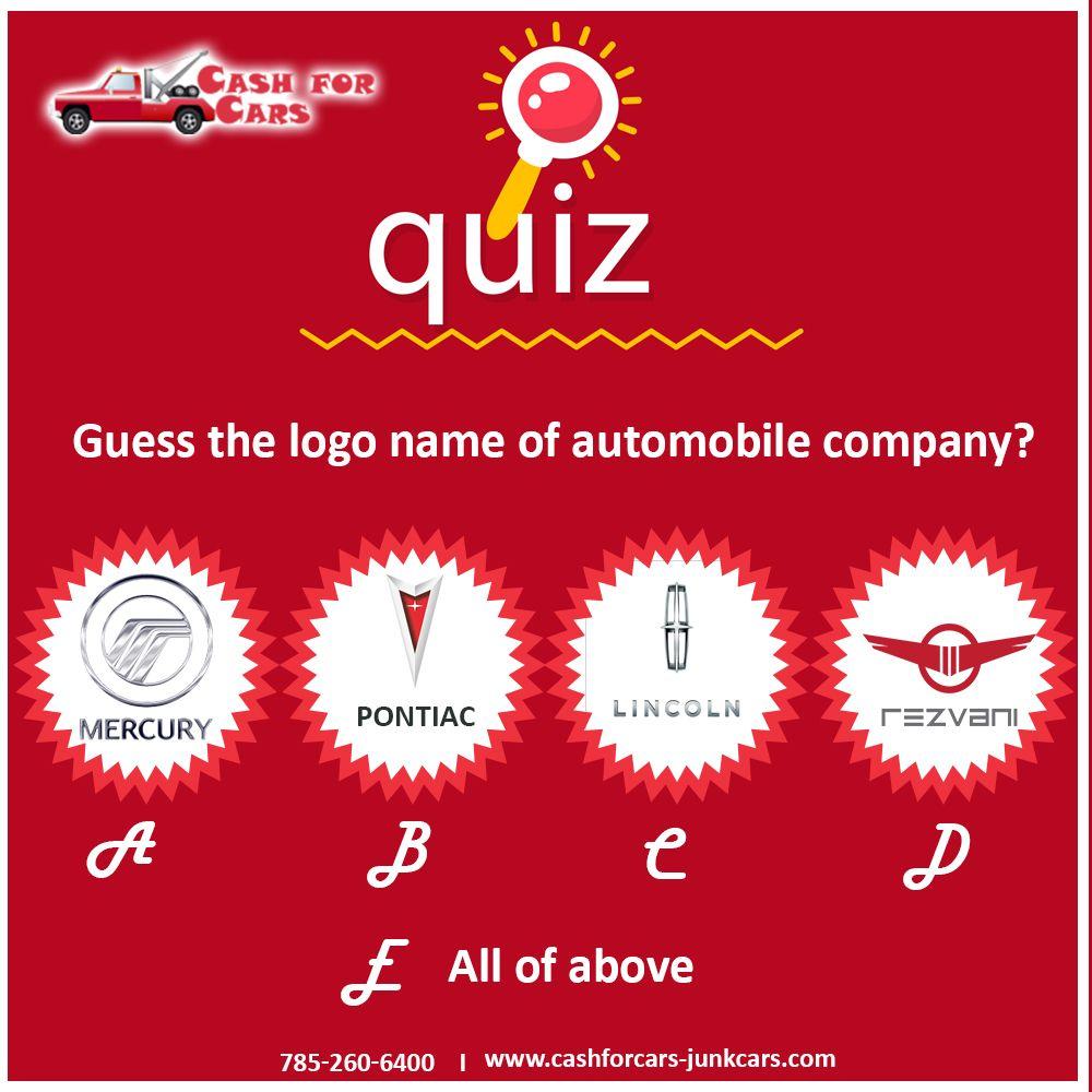 Guess the logo name of automobile company?   Automobile ...