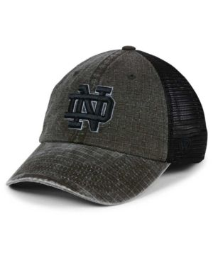 size 40 a86cf ade75 Top of the World Notre Dame Fighting Irish Ploom Adjustable Cap - Black  Adjustable