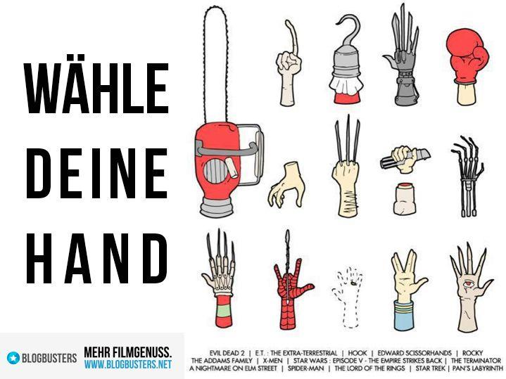 Wähle deine Hand! #moviememe #moviefun #cinemafun #blogbustersmemes