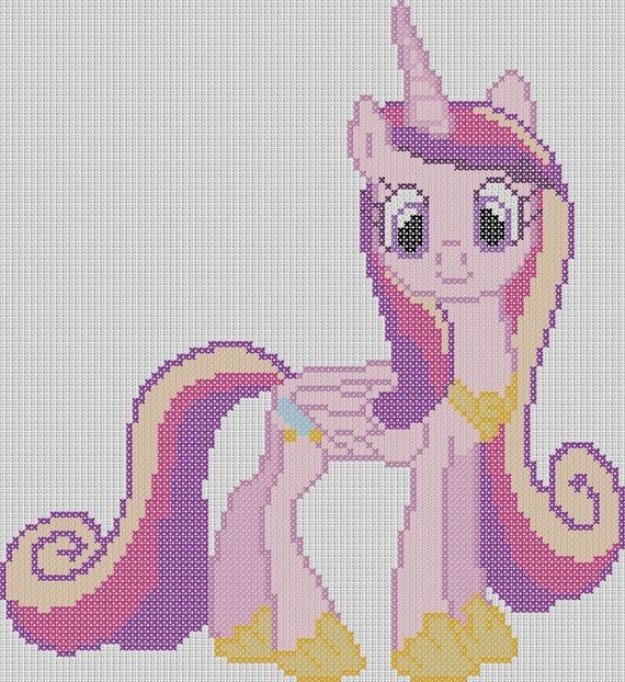 My Little Pony Inspired Pattern Princess by StitchedPixels, $1.25 by ...