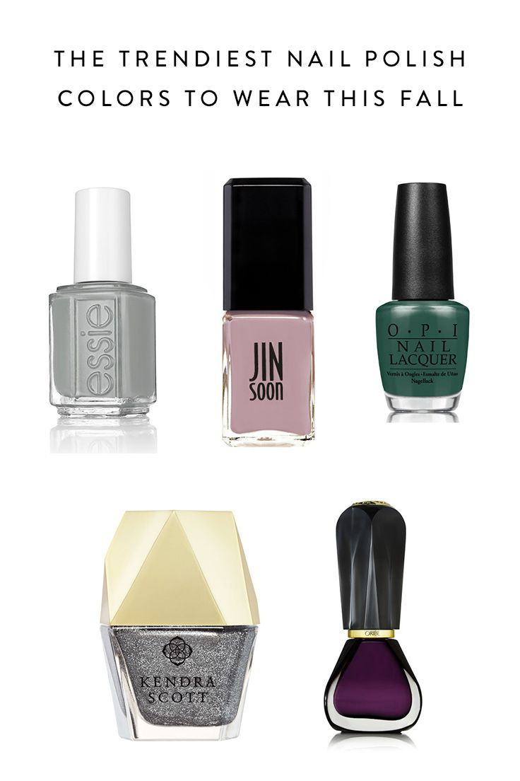 The 8 Trendiest Nail Polish Colors to Wear This Fall   Nail polish ...