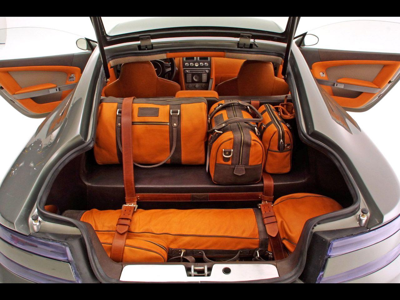 aston martin amv8 vantage am305 concept interior orange grey tan beige black door panels auto. Black Bedroom Furniture Sets. Home Design Ideas