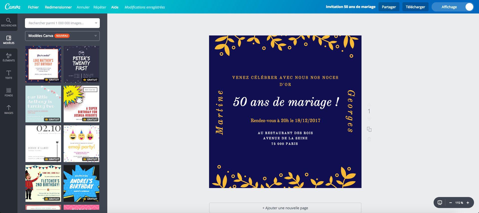 Texte Félicitations 50 Ans De Mariage Noces D'or