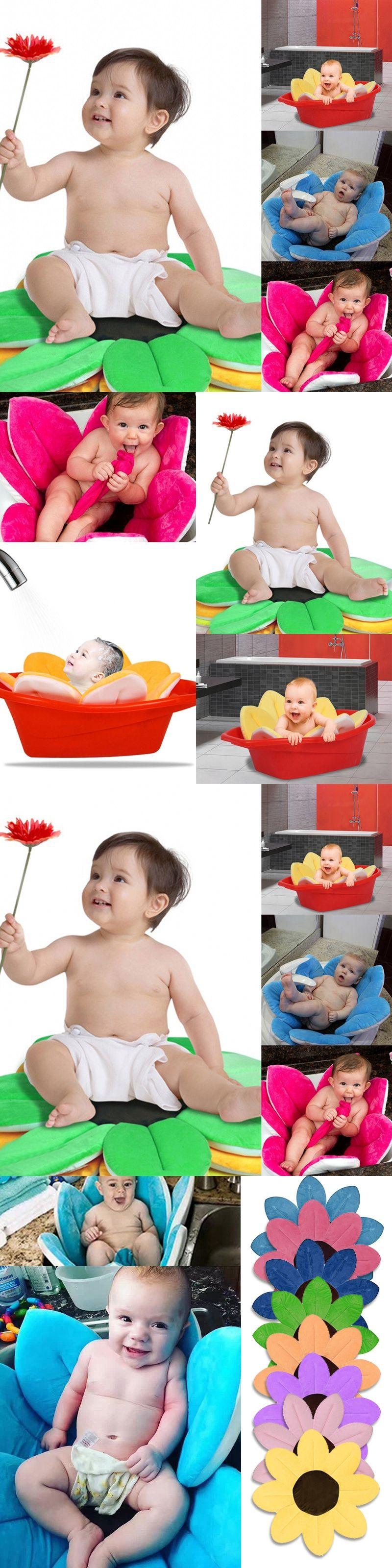 New Baby Bathtub Foldable New Born Baby Supplies Flowers Shape Bath ...