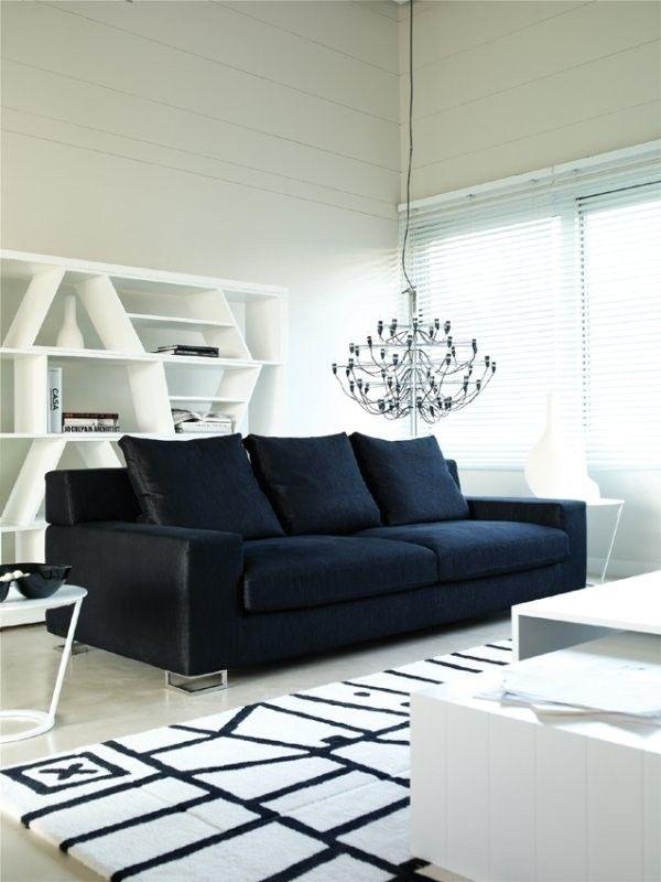 sofa negro buscar con google - Sofas Negros