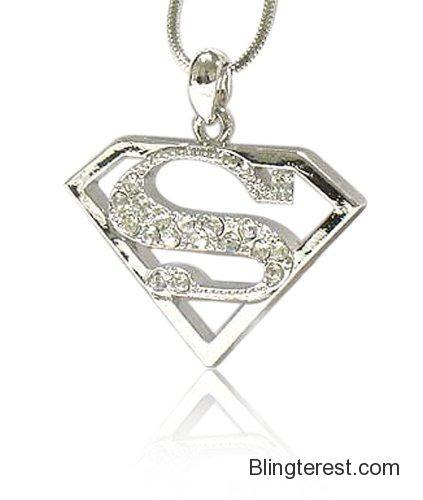 Crystal Superman Symbol Pendant Superman Pinterest Superman