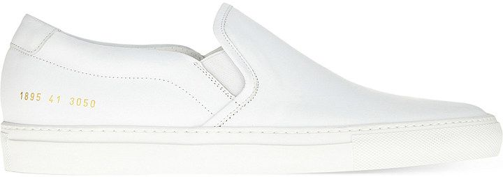 COMMON PROJECTS Slip on leather trainers