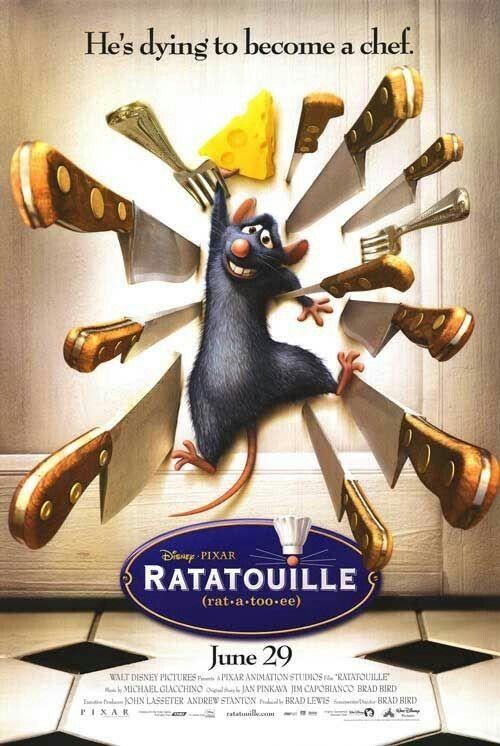 Ratatouille 2007 Ratatouille Movie Fantasy Movies Ratatouille Disney