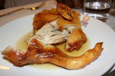 Stuffed Pork Segovia Spain Things I Ve Eaten Gorilla Bread