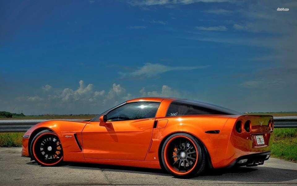 Daytona Sunset Orange Metallic I Like It Chevrolet Corvette Corvette Chevy Corvette