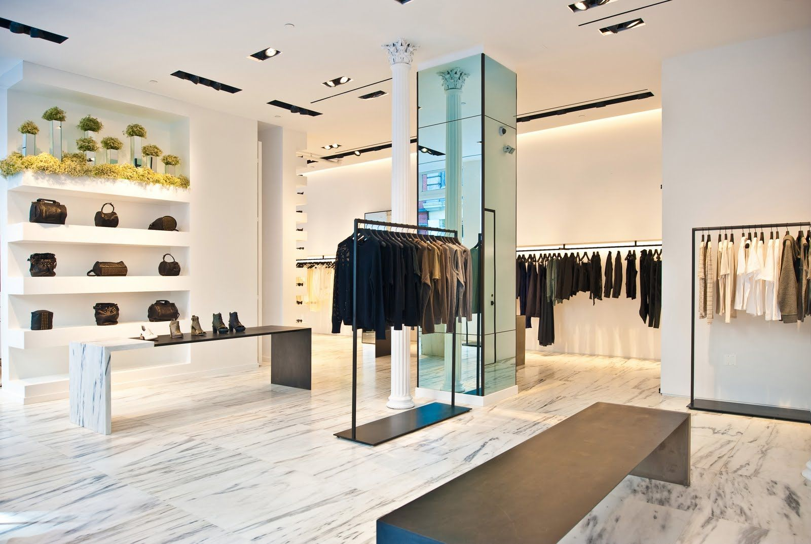 Alexander Wang Store in NYC   Retail store design, Retail design, Store  design