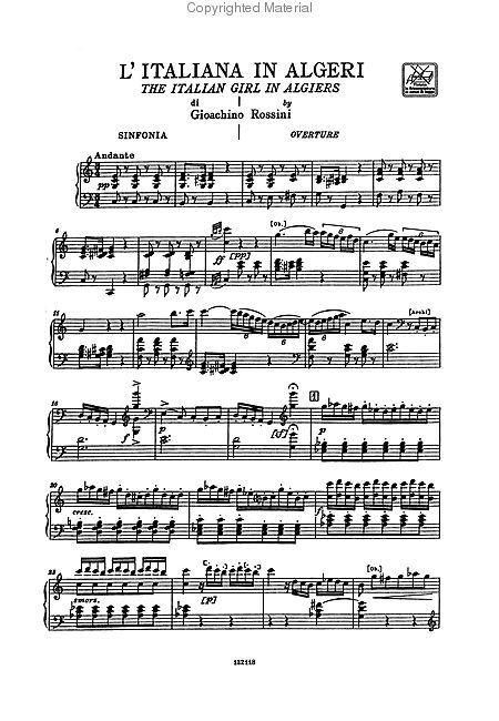 Gioacchino Rossini Free Sheet Music To Download In Pdf Mp3 Amp