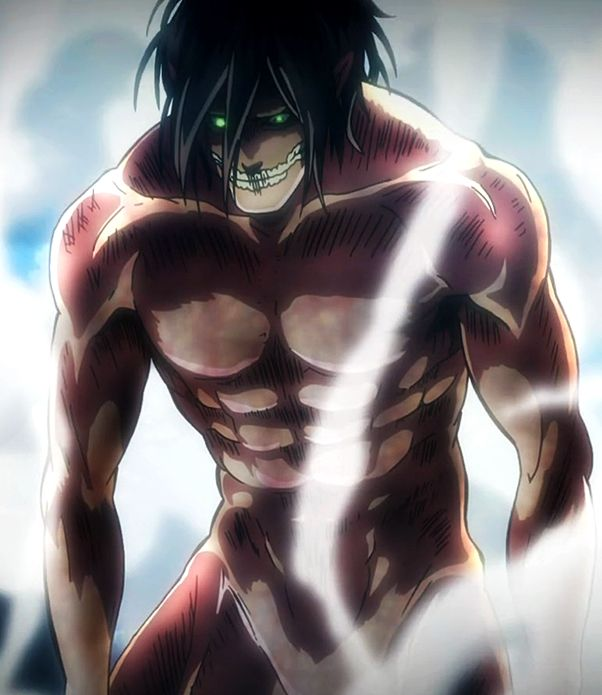 Eren - Titan Form, Can I just say, Holy Ripped! | Attack On Titan ...