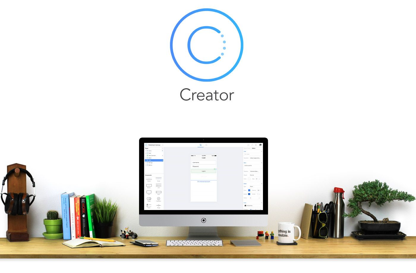 the new ionic-creator-hero