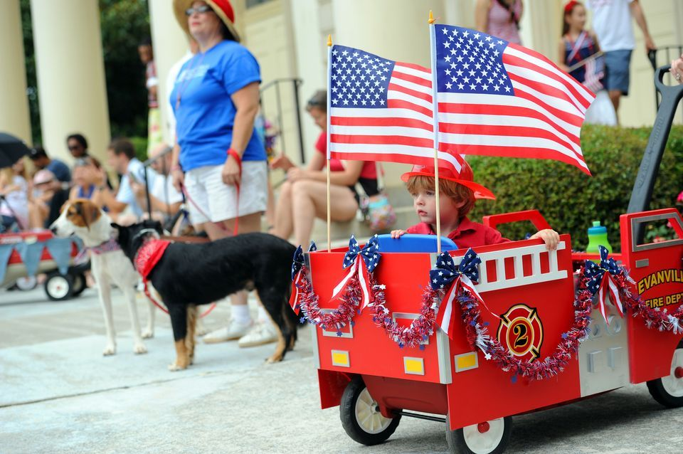 Decorate A Kids Wagon For A Parade - Google Search