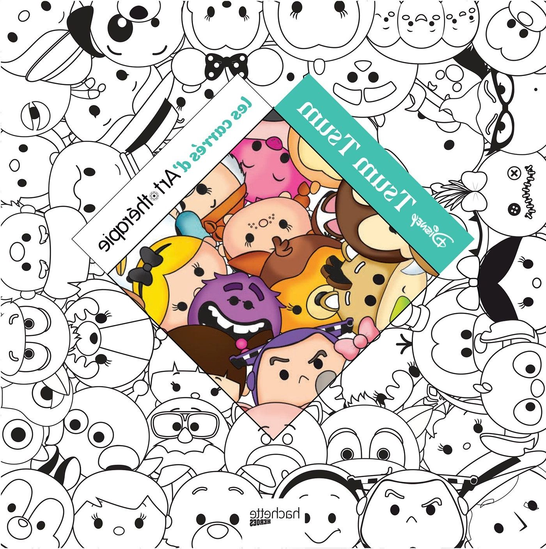 8 Meilleur De Coloriage De Disney Images  Tsum tsum, Tsum, Libro