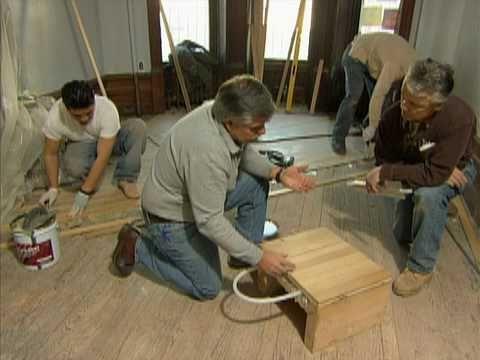 Radiant Heat Solid Wood Flooring