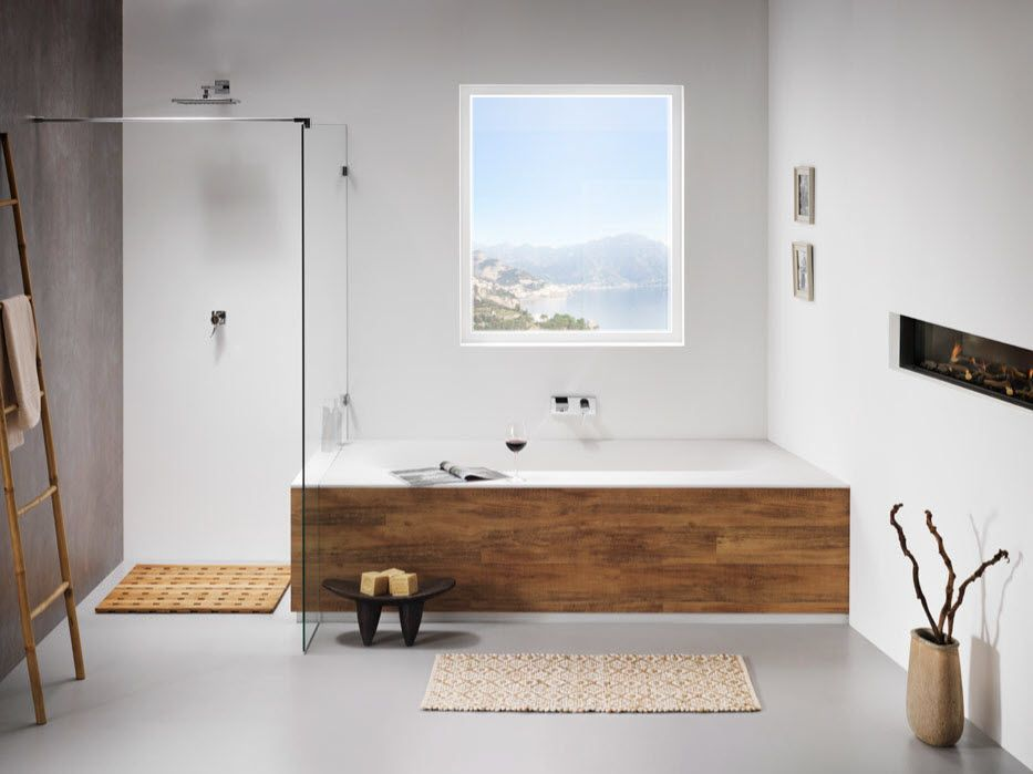 industrial badkamer, gietvloer, basic | Badkamers | Pinterest ...