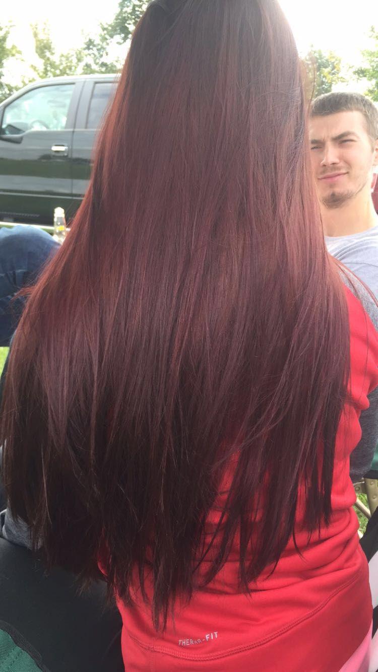 Pin On Dark Red Hair