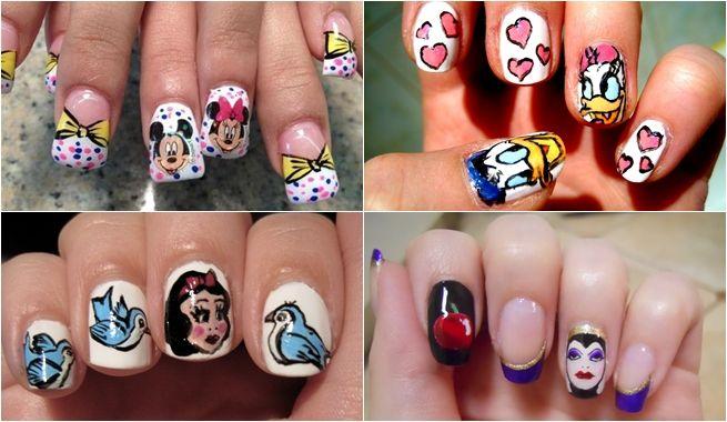 Manicuras Disney Manicura Disney Unas Mickey Unas Disney