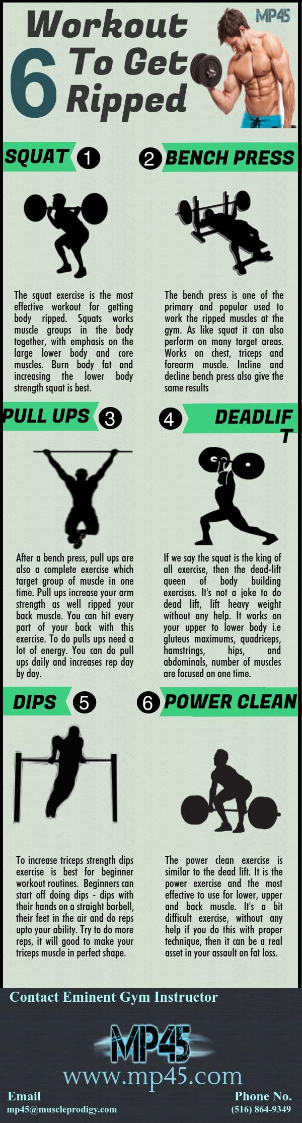 Workout To Get Ripped   Get ripped workout, Fun workouts, Gym plan