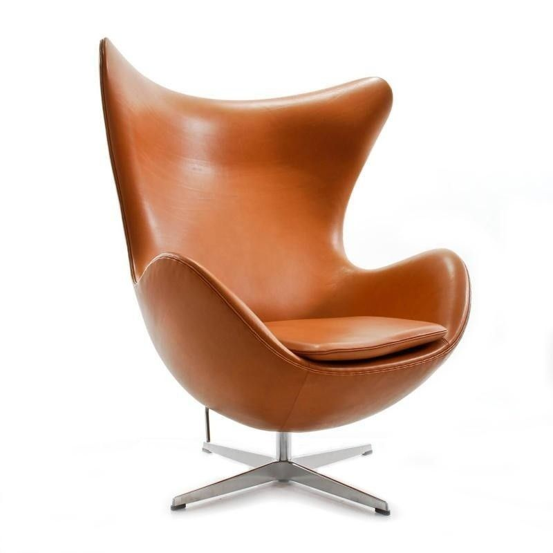 Egg Chair Das Ei Loungesessel Leder Cosy At Home Pinterest