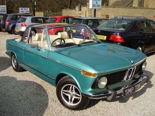 sale retailer eb273 b0f73 1974 BMW 2002 BAUR CABRIOLET For Sale | Va va voom | Bmw ...