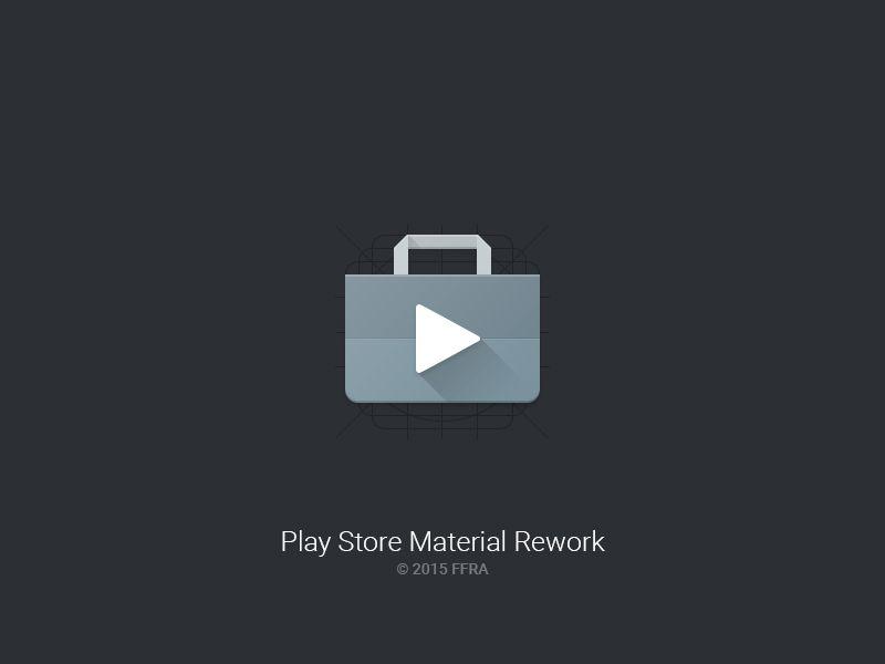 Play Store Material Rework