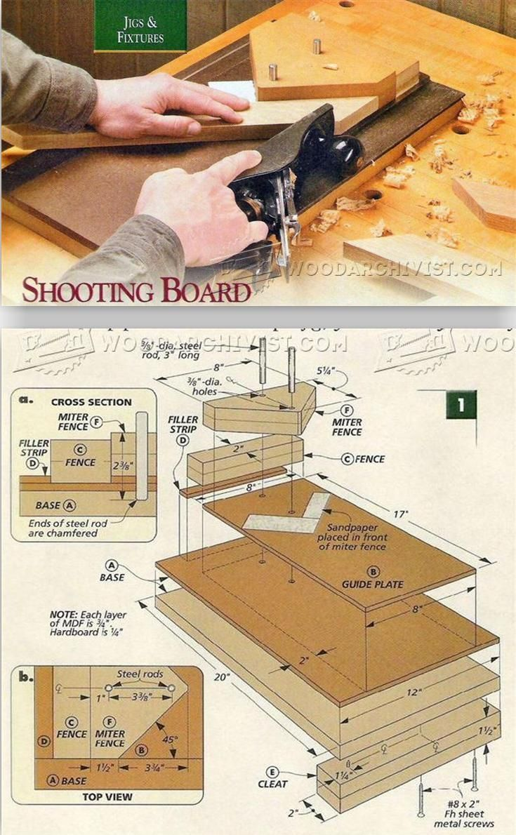 Shooting Board Plans With Images Woodworking Workshop