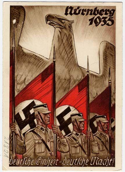 Nuremberg Rally 1935 - Postcard....