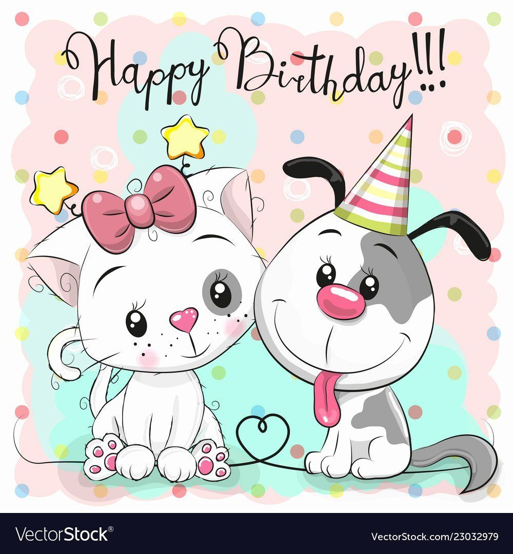 Happy Birthday Cat Card In 2020 With Images Happy Birthday Cat