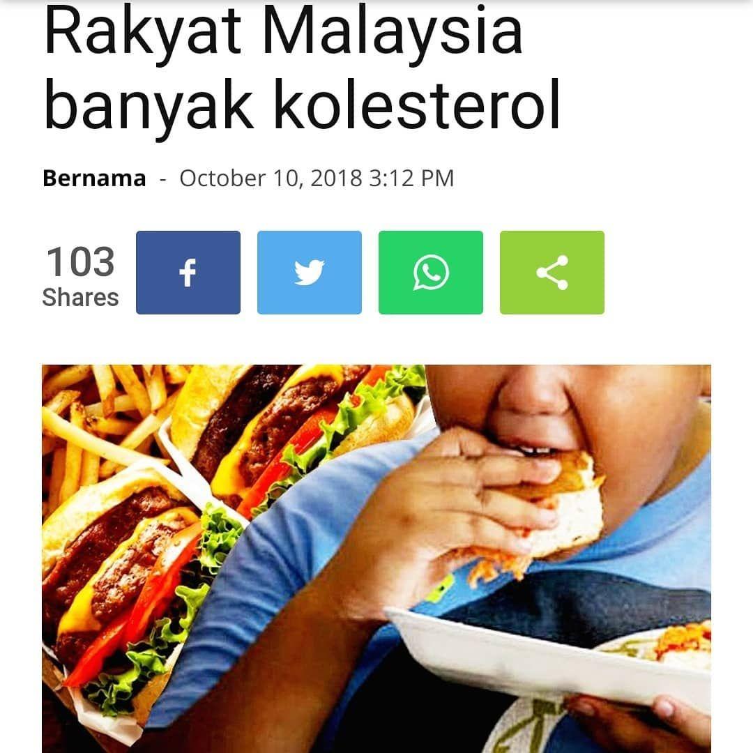 Kolesterol adalah sejenis lemak yang terdapat dalam darah